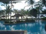 バリ島の朝 コンラッドバリ
